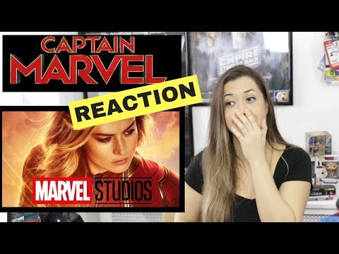 Marvel Studios' Captain Marvel | Special Look | REACTION
