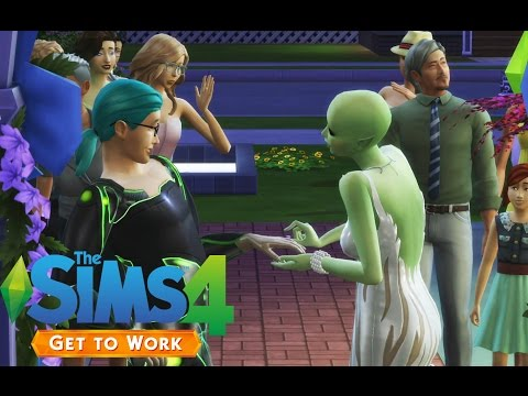 The Sims 4 - Kolby elkelt! :D - Get to work