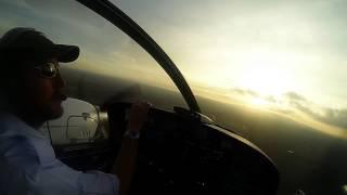 Wilson Kenya Landing DA42