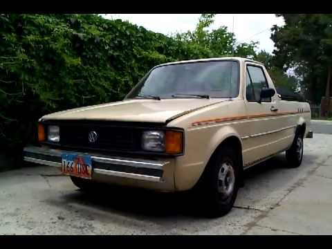 1981 vw rabbit pickup caddy turbo diesel engine swap 4. Black Bedroom Furniture Sets. Home Design Ideas