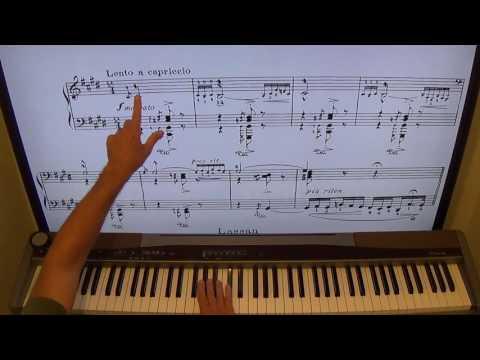 Liszt Hungarian Rhapsody No. 2 Piano Lesson -  For shawncheek.com