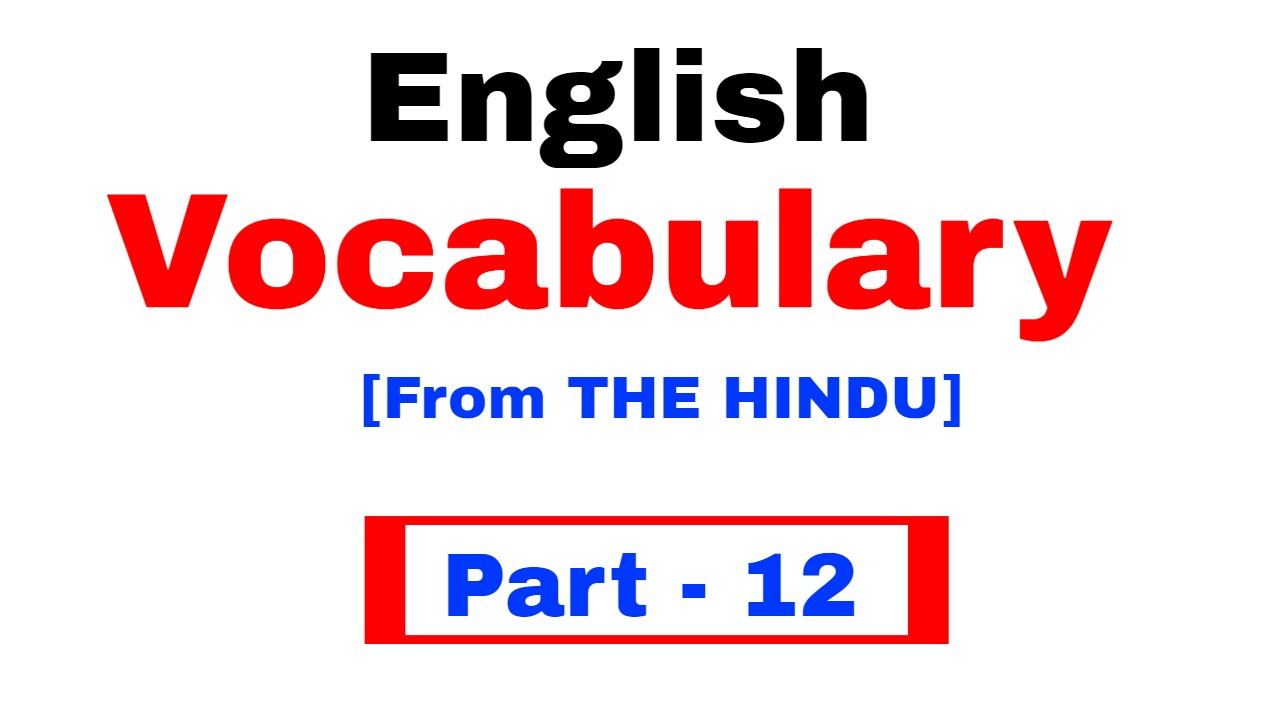 english vocabulary pdf for ssc cgl