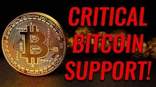 Critical Bitcoin Support! Bad Things Happen If We Fall Below This!