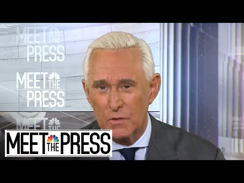 Full Roger Stone Interview: 'There's no evidence' of early Wikileaks content | Meet The Press