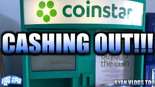 Cashing Out At A @Coinstar Kiosk! (Vlog #140)