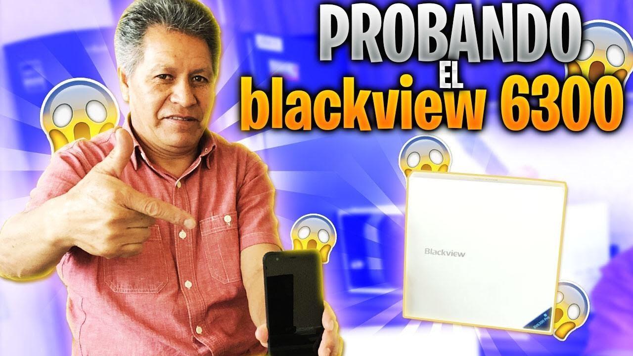 PROBE EL CELULAR INDESTRUCTIBLE | BLACKVIEW 6300PRO