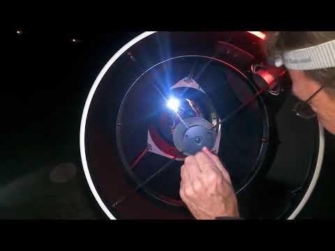 #3 Jour de la nuit à Claouey, Lège-Cap Ferret avec le club astronomique la Bételgeuse - COLLIMATION