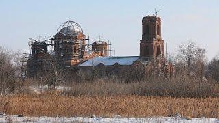 Заброшенные церкви Липецкой области. Воздвиженская церковь в Грязновке(, 2016-01-03T06:43:13.000Z)