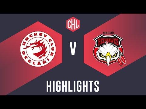 Highlights: Oceláři Třinec vs. Malmö Redhawks