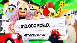 I Spent 10K ROBUX In Adopt Me, You Won't BELIEVE What I Got!