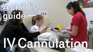 A child's guide to hospital - IV Cannulation