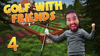 Adam Ruins Things + CUBES! - (Golf With Friends #4)