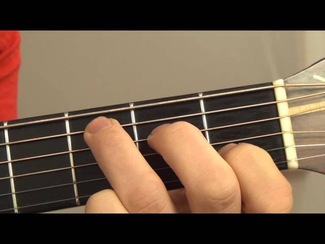 U2 - One - gitaaruitleg - gitaarles