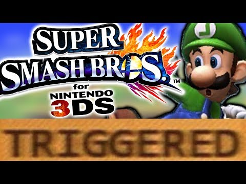 How Super Smash Bros for 3DS TRIGGERS You!