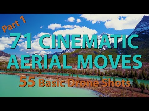 HowTo 55 of 71 Drone Cinematic Moves/Maneuvers/Techniques Tutorial with Controls for Landscapes/POIs