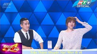 Người bí ẩn | Trấn Thành khuyên Hari Won đi về | HTV
