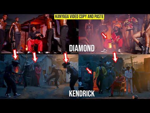COPY AND PASTE,Diamond Platnumz- Kanyaga (official Music Video)