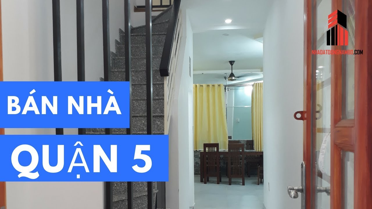 Bán nhà Quận 5   Giá 2 tỷ 750 - Hẻm 192 Nguyễn Trãi, gần ngã 4 Lê Hồng Phong - ĐÃ BÁN