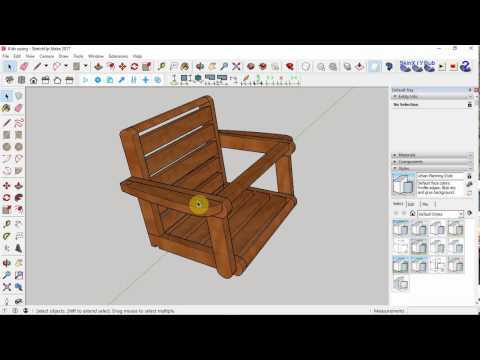 Kids Swing Chair made from a Single 2 x 4!