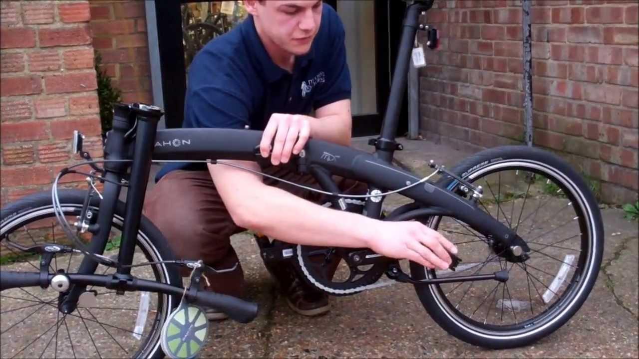 Dahon Folding Bike How To Fold And Unfold Youtube