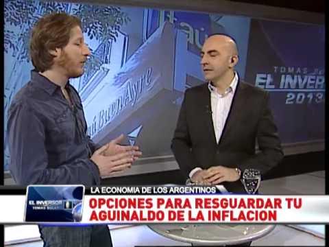 El Inversor  con Tomás Bulat. Programa del 13.07.13.