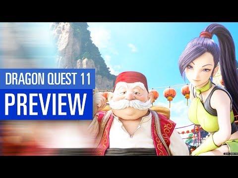 Dragon Quest 11 PREVIEW - Vorschau zum grafisch opulenten PS4-Rollenspiel