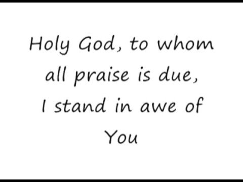 I Stand In Awe - Terry MacAlmon [lyrics]