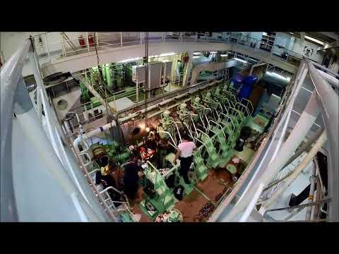 Ship Main Engine Overhaul