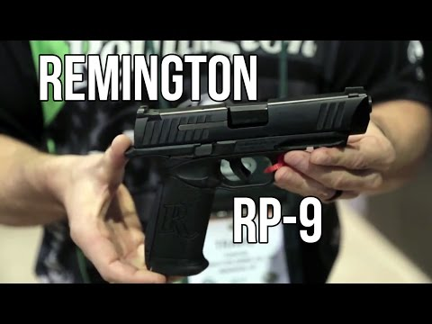 New Remington RP9 Striker Fired Handgun | Shot 2017