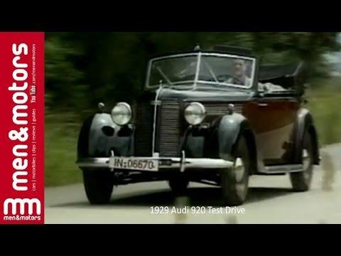 1929 Audi 920 Test Drive