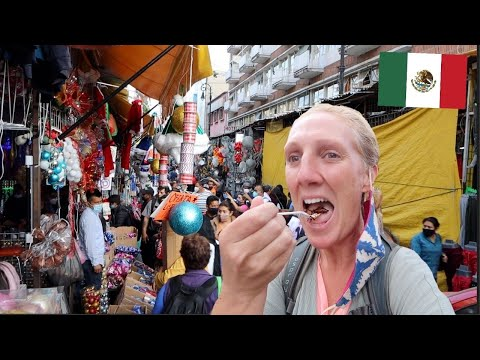 INSANE Mexico City STREET FOOD and MARKET TOUR