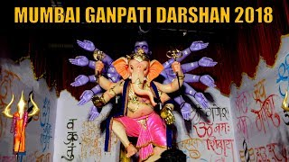 [26 in 1] MUMBAI GANPATI DARSHAN 2018 - Ganpati from LALBAUG,PAREL,KHETWADI,FORT | GANESH UTSAV 2018