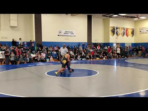 Wrestler Hernandez Vs Wilmette Junior High School