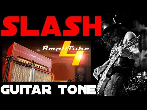 SLASH GUITAR TONE – Amplitube 4 – How to get it…