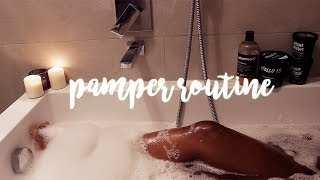 Relax & Pamper Routine | TIA TAYLOR