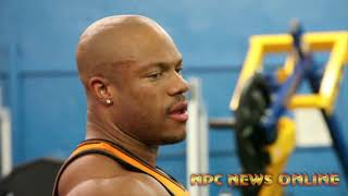 Phil Heath Workout NPC Gym
