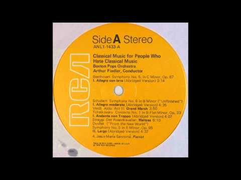 Classical Music For People Who Hate Classical Music , Fiedler, side 1