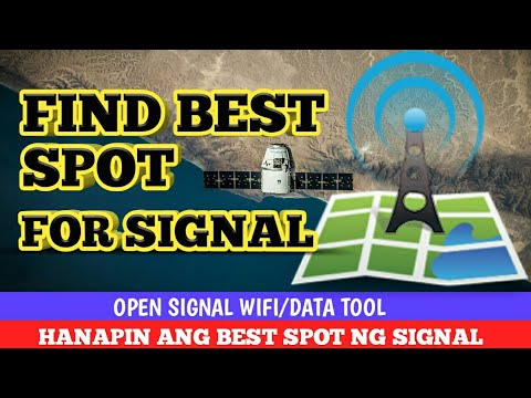 OPENSIGNAL TOOL  ! ( Find best spot for signal )
