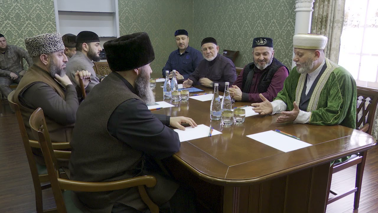 ДУМ ЧР и ЦДУМ Волгоградской области подписали договор о сотрудничестве
