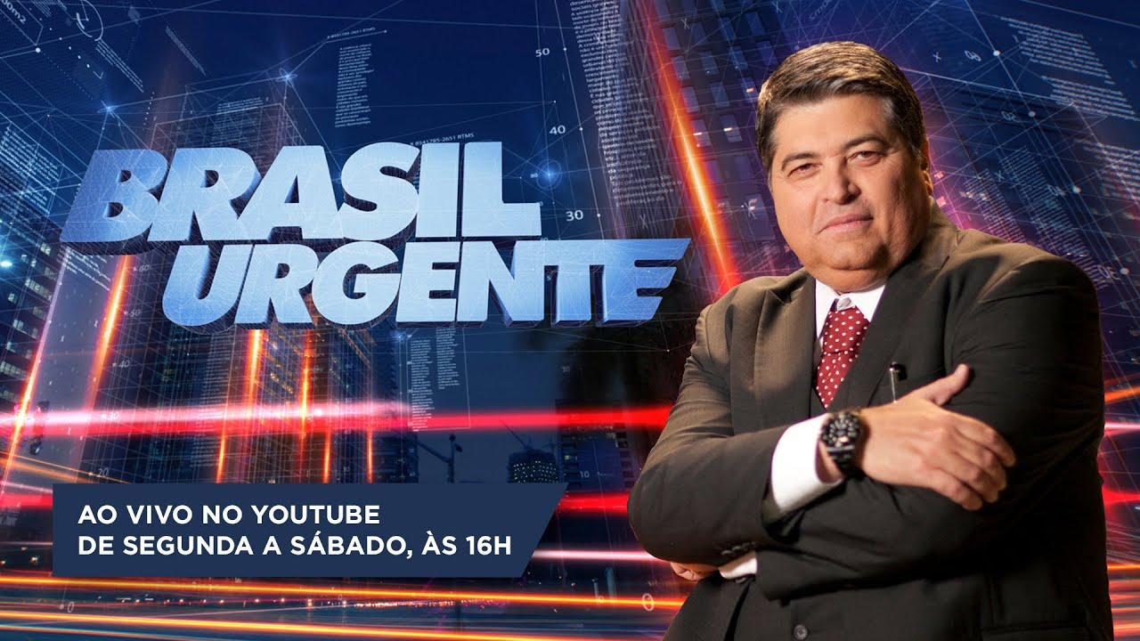 [AO VIVO] BRASIL URGENTE - 10/07/2020