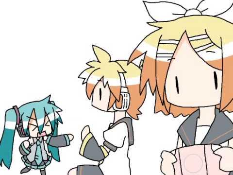 "【Miku Hatsune】Chibi Miku-san ""ちびミクさん""【VOCALOID Anime PV ...  【Miku Hatsune..."