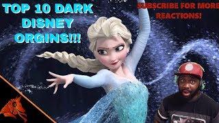 Top 10 Scary Disney Dark Origins REACTION
