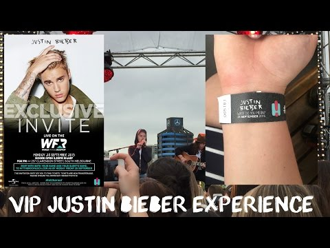 Justin bieber meet and greet pass my vip justin bieber experience m4hsunfo