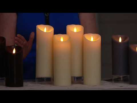 Luminara (4) Flameless Candles with Remotes And Gift Boxes on QVC
