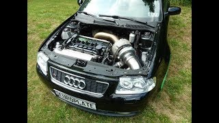 QUATTRO AUDI TURBO BIG POWER SOUND