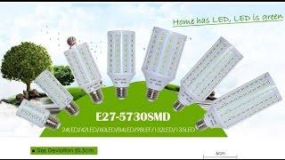 Покупки из Китая - Светодиодные лампочки для дома.(LED Lamp E14 42x5730 12W ..., 2014-12-14T16:55:19.000Z)