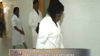 Hospital provincial do Huambo com carência de médicos e enfermeiros | TV Zimbo |