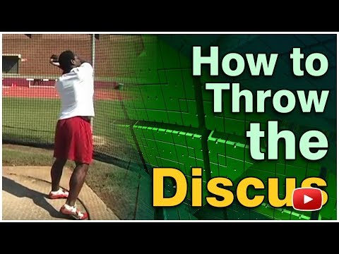 Track and Field - How to Throw the Discus - Coach Rod Tiffin