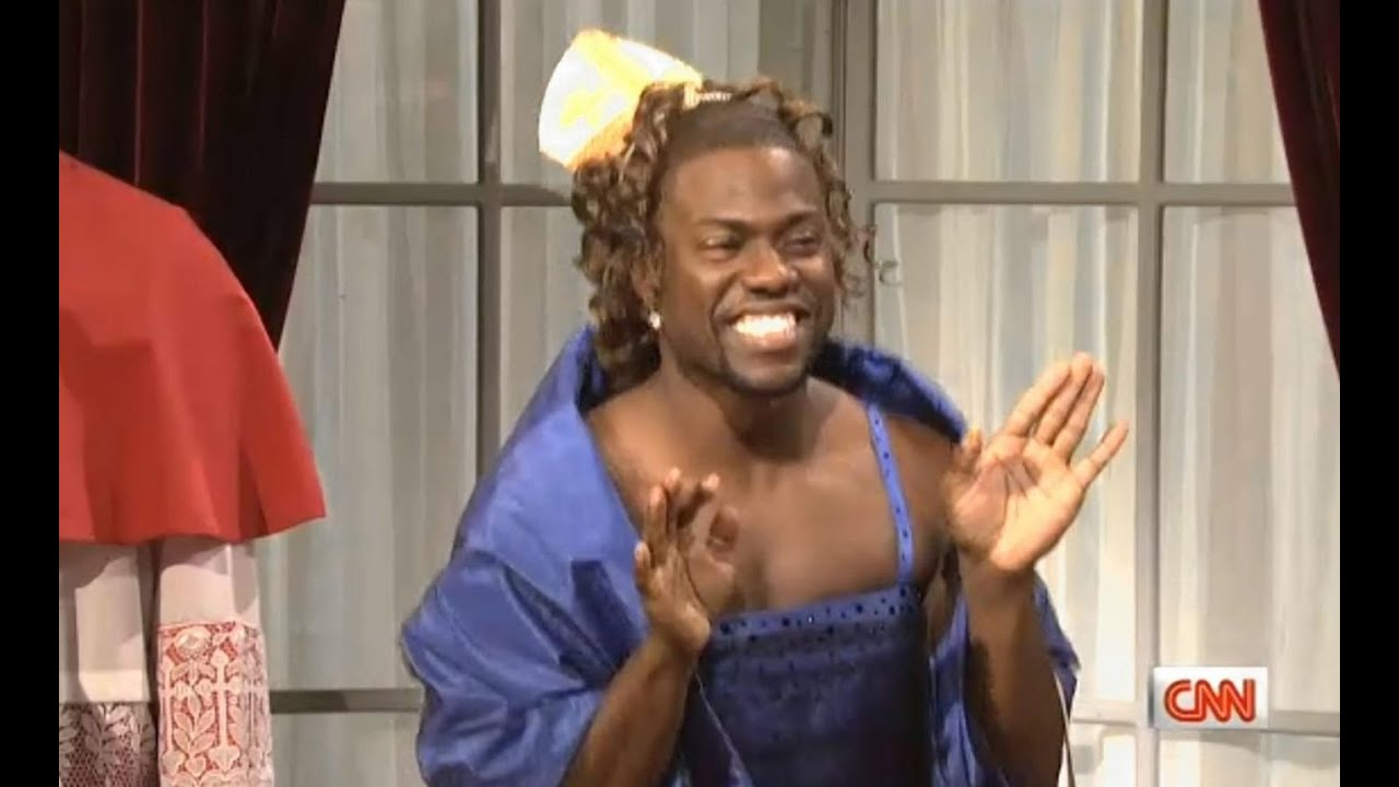 Kevin Hart said he would NEVER wear a dress to get a role...