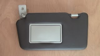 Car Sunvisor in Leather - Video 2